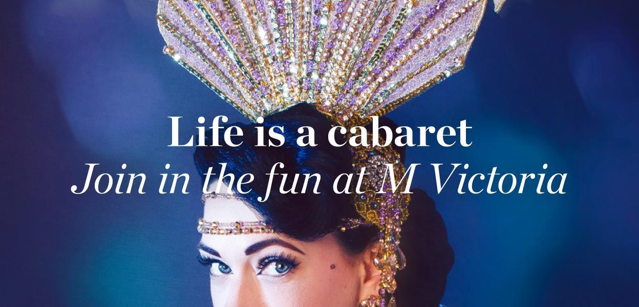 M cabaret Event.