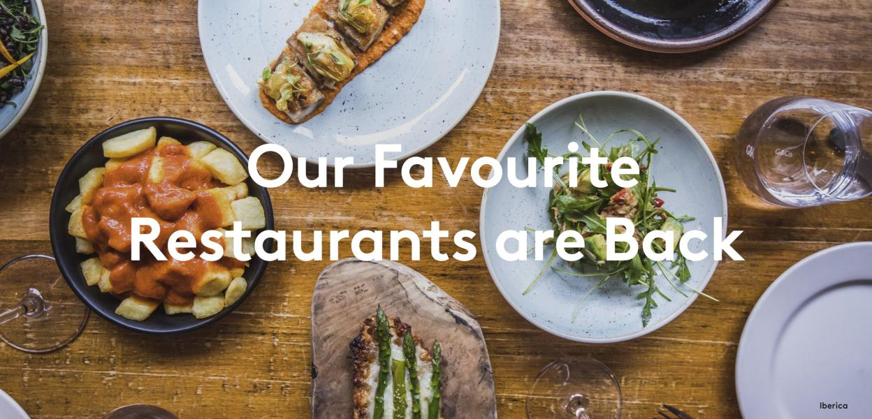 Our favourite restaurants are open again in Victoria