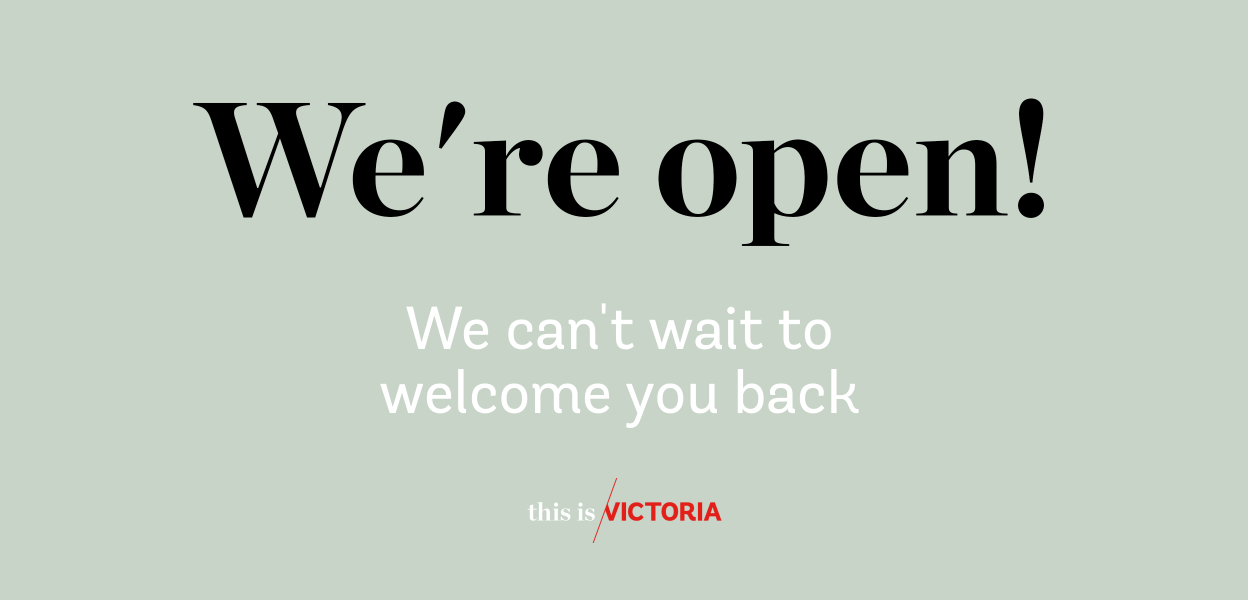 We are open Winter 2020
