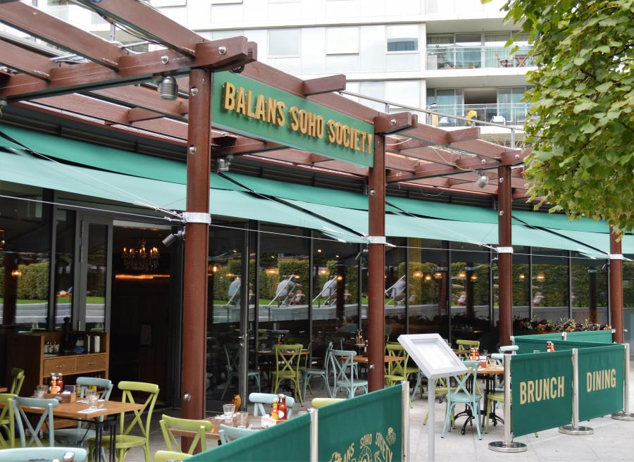 Balans Soho Society at Cardinal Place