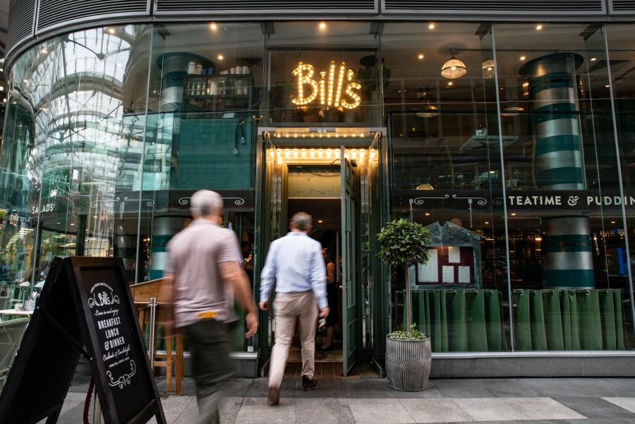Bill's at Cardinal Place Victoria