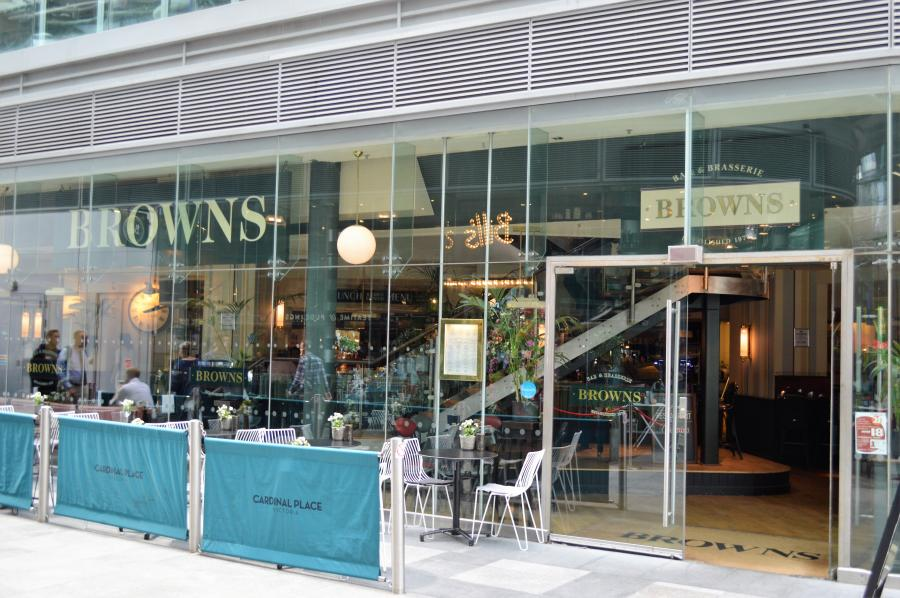 Browns Bar & Brasserie at Cardinal Place