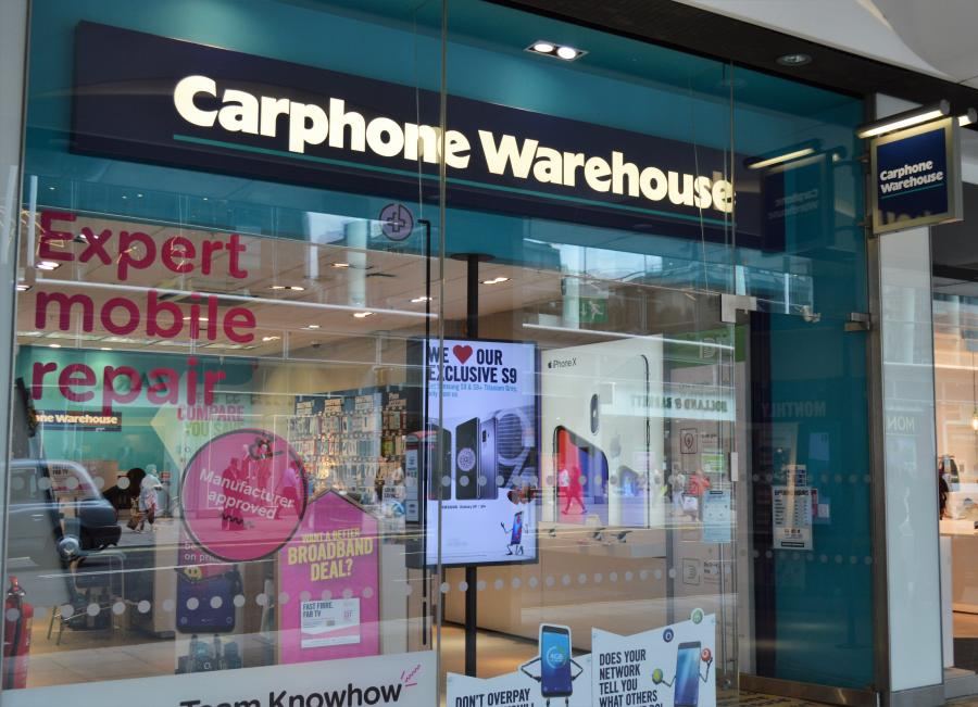 Carphone Warehouse Cardinal Place Victoria