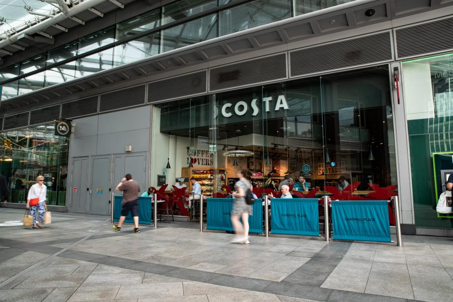 Costa at Cardinal Place Victoria