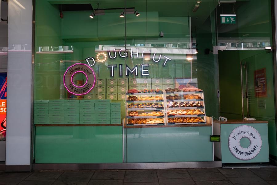 Doughnut Time at Cardinal Place Victoria