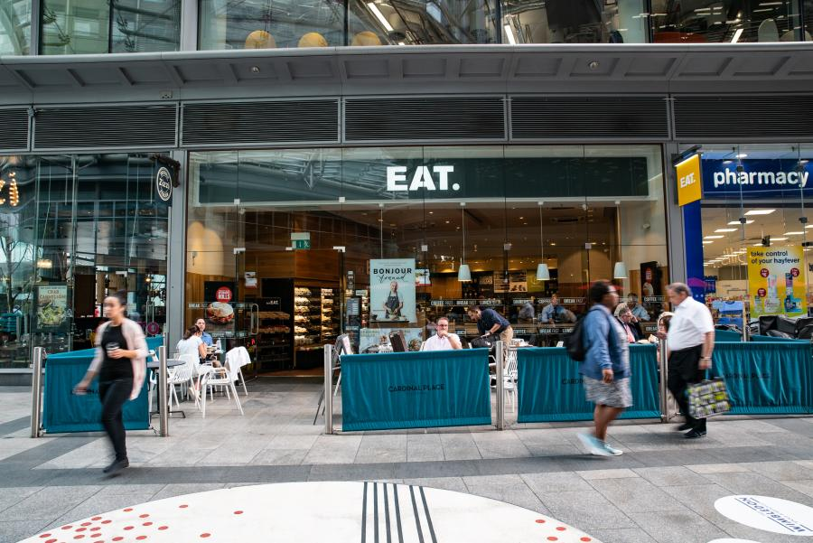 EAT at Cardinal Place Victoria