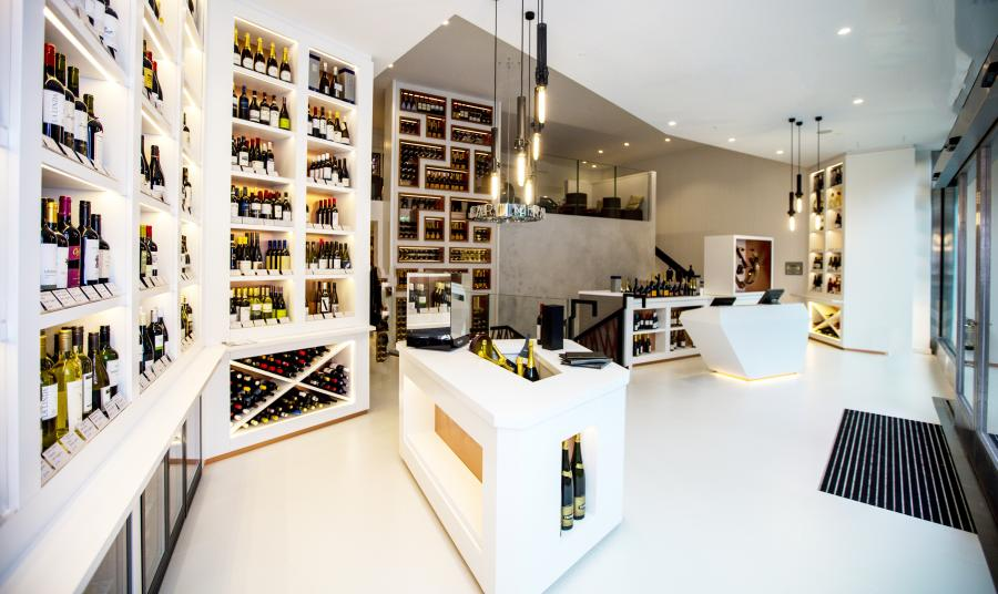 M Wine Store in Victoria, London