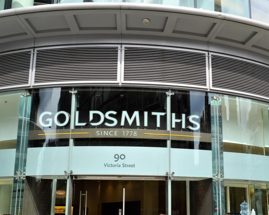 Goldsmiths at Cardinal Place Victoria