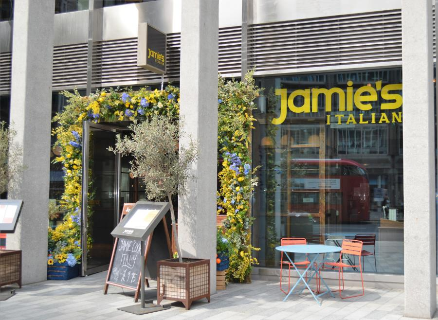 Jamie's Italian at Cardinal Place Victoria