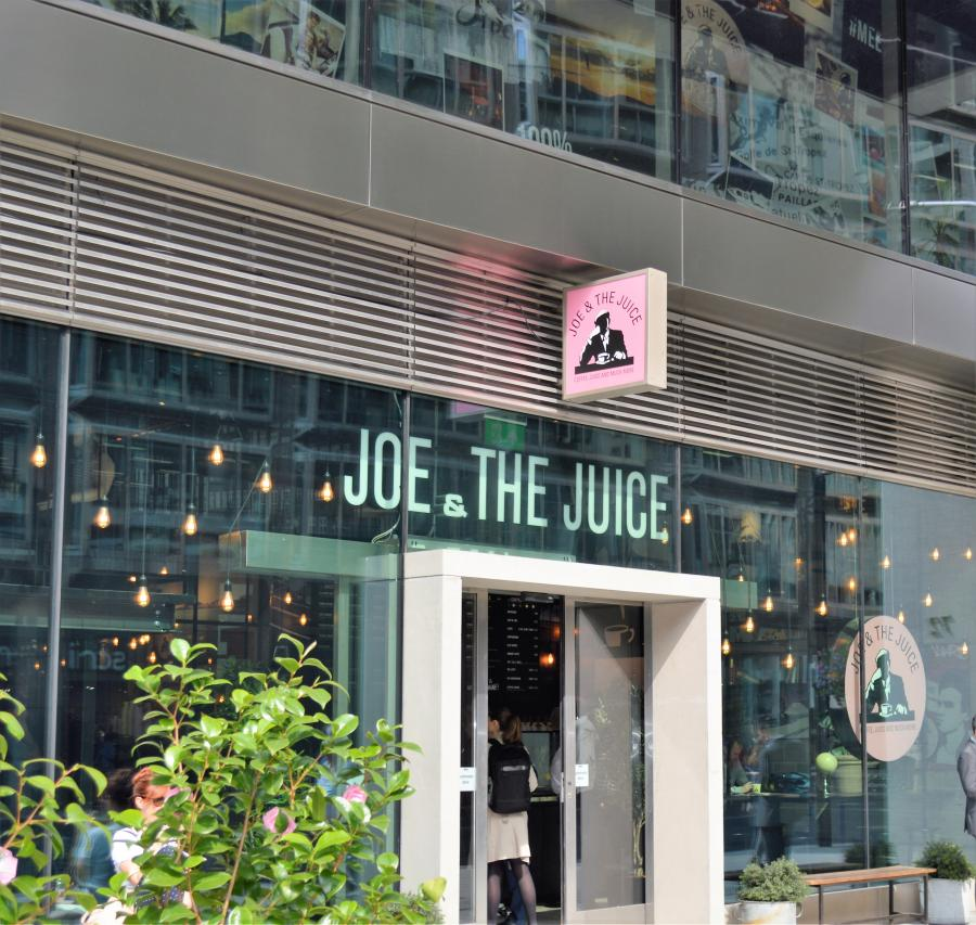 Joe & The Juice at Cardinal Place Victoria