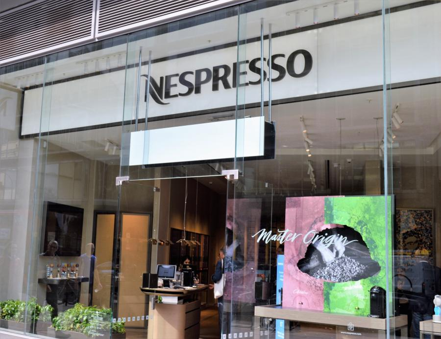 Nespresso at Cardinal Place Victoria