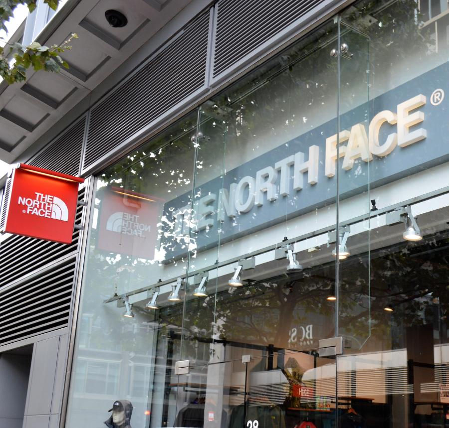 The North Face in Victoria, London
