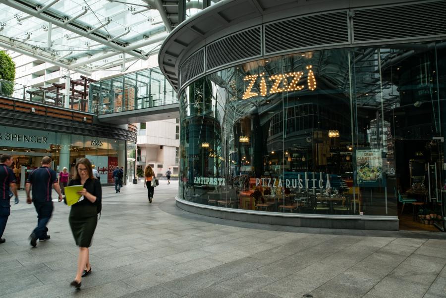 Zizzi at Cardinal Place Victoria