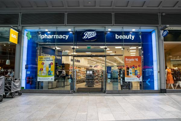 Boots in Cardinal Place, London
