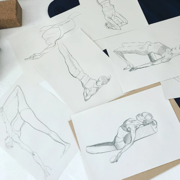 yoga -life-drawing