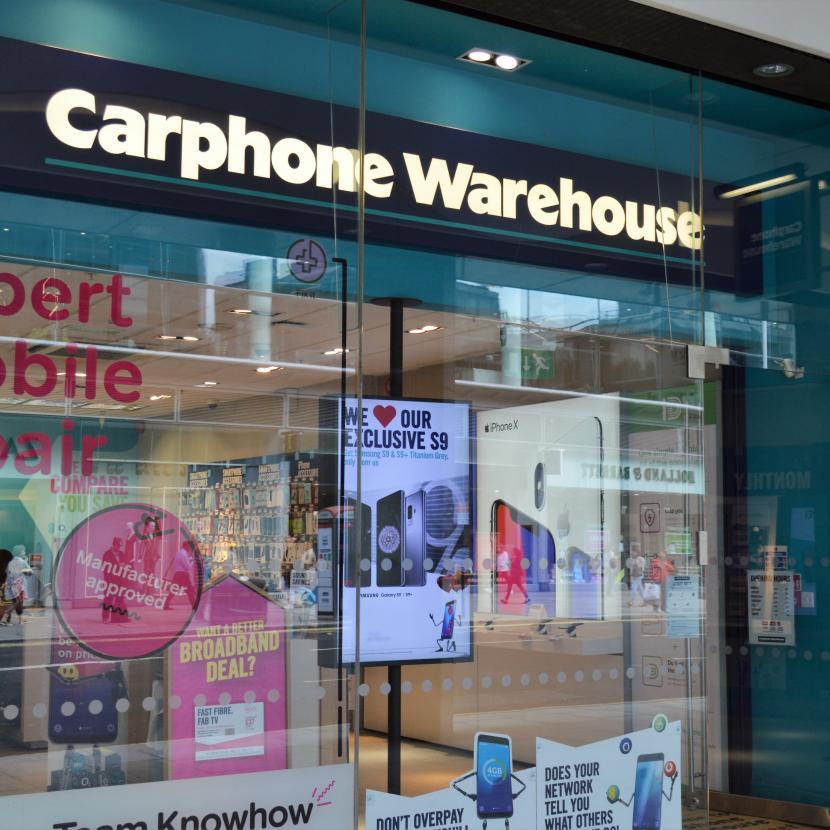 Carphone Warehouse Cardinal Place Victoria