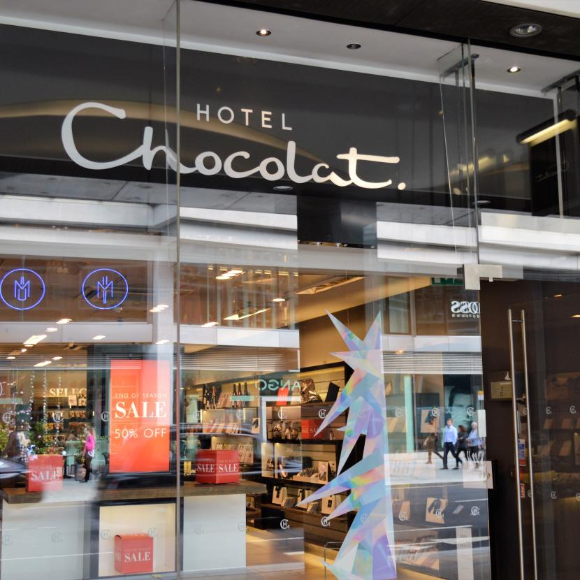 Hotel Chocolat at Cardinal Place Victoria