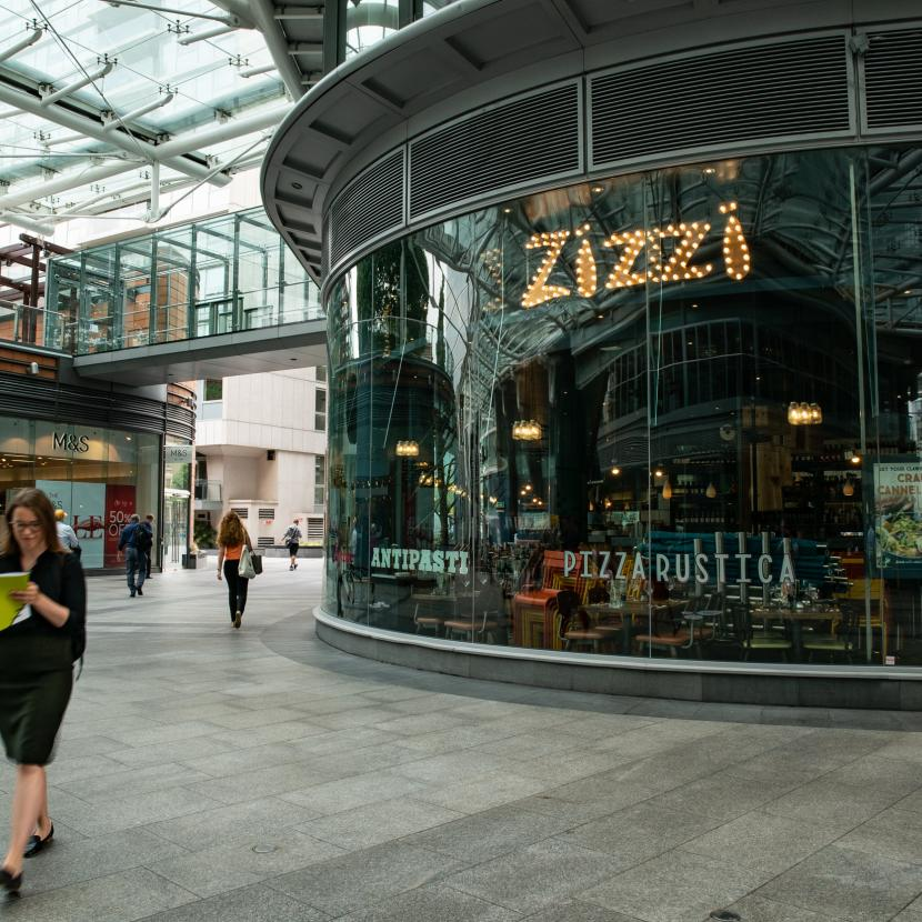 Zizzi at Cardinal Place Victoria