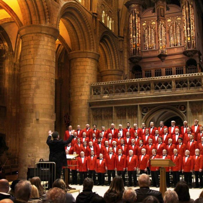 The London Welsh Male Voice Choir, Image by John Downing