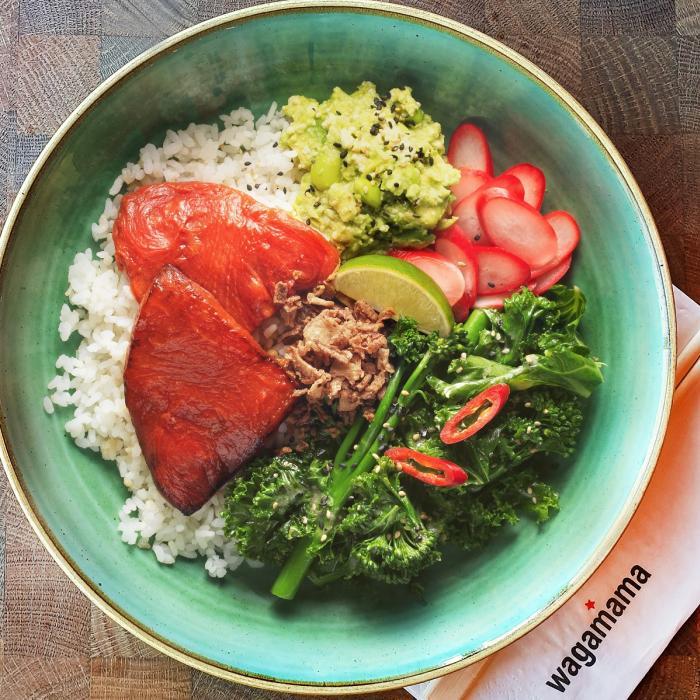wagamama - vegan- suika-tuna