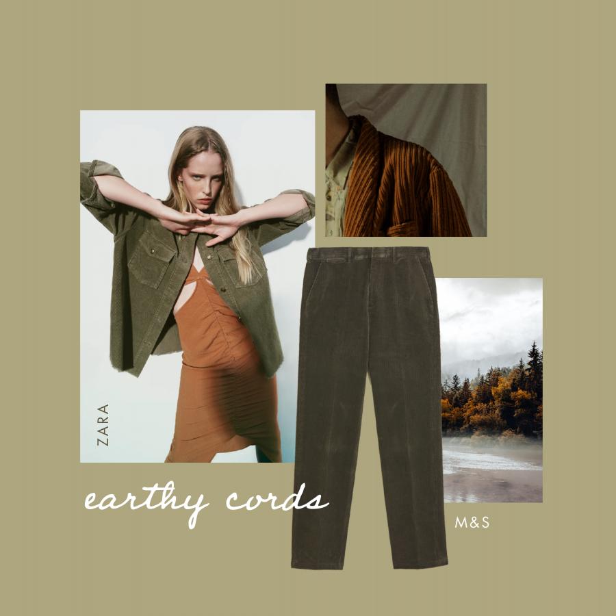 Autumn workwear earthy cords
