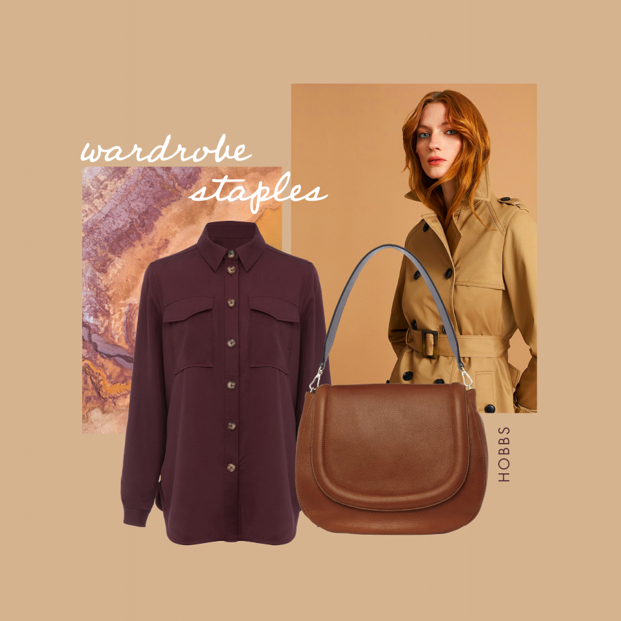 Autumn workwear wardrobe staples