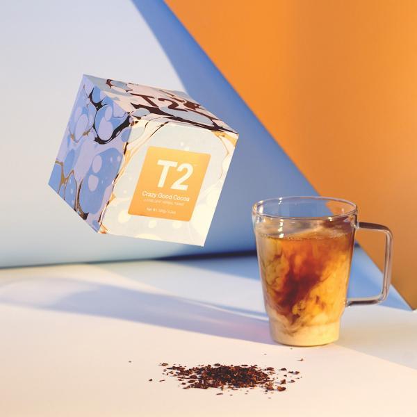 T2's latest caffeine-free choccy cuppa