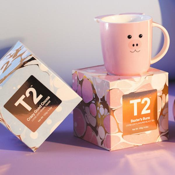 Limited-edition Easter tea sets from T2