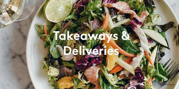 takeaways & deliveries in Victoria