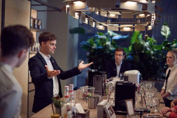 'Let's Talk Coffee' at Nespresso